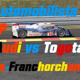 Automobilista // LMP1 // Toyota + Audi R18 // Spa