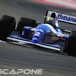 Assetto Corsa - Williams FW14 @ Barcenlona GP 1:26:302