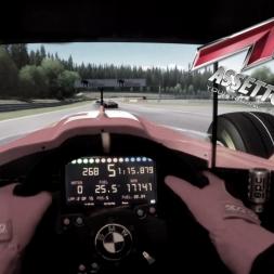 Assetto Corsa - Ferrari F300 @ Spa Francorchamps- Onboard Triple Screen
