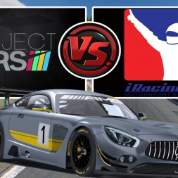 Project Cars (vs) iRacing | Mercedes AMG GT3 @ Spa Francorchamps [Comparative Graphics & Sounds]
