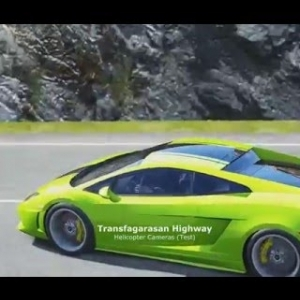 Assetto Corsa - Helicopter Cameras - Transfagarasan Highway