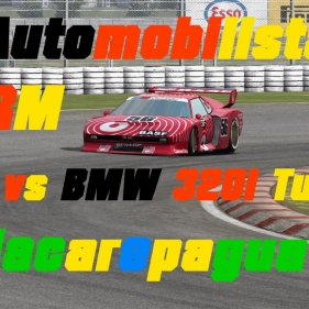 Automobilista // DRM // BMW M1 vs BMW 320i Turbo // Jacarepagua Historic