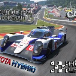 Project Cars * Toyota TS040 * Spa * Hotlap * setup
