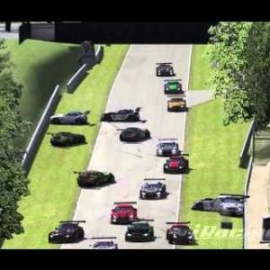 IRACING:GT3 HUGE CRASH @ BRANDS HATCH
