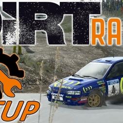 DiRT Rally w/ Controller - Subaru Impreza - Wales - Mods - Setup Sunday