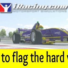 iRacing - Flag to flag the hard way