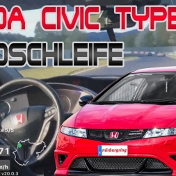 Honda Civic Type R vs Nurburgring Nordschleife | Onboard | Cristobal J Lopez