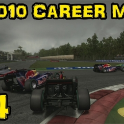 F1 2010 Career - Race 14 - Italy - No Penalty!!??