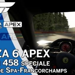 Forza 6 APEX Beta - Ferrari 458 Speciale @ Spa - Onboard