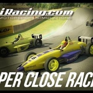 iRacing - Super closing racing in the Skip Barber at Okayama