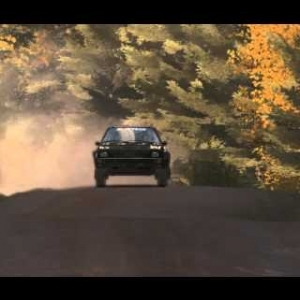 DiRT Rally - Audi Quattro - Full Black- Finland (PC HD) [1080p]