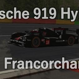 Porsche 919 @ Spa Francorchamps - rFactor 2