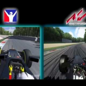 Mclaren MP4-30 Iracing vs Mclaren MP4-31 Assetto Corsa ACFL F1 Mod.