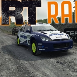 DiRT Rally Top 200 with Controller - Ford Focus RS - Mods - Setup Sunday