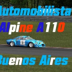 Automobilista // Alpine A110 // Buenos Aires