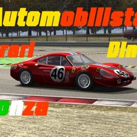 Automobilista // Ferrari Dino 246 GTS // Monza