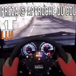 Dirt Rally - Subaru Impreza @ Approche du Col de Turini