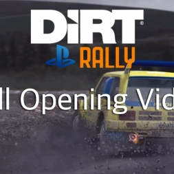 DIRT Rally PS4 - Full Opening Video
