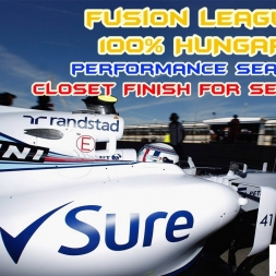F1 2015 | 100% hungary | Fusion League | BEST FINISH FOR SEASONS!!