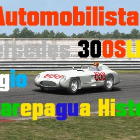 Automobilista // Mercedes 300 SLR // Jacarepagua