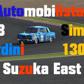 Automobilista // R8 Gordini + Simca 1300 // Suzuka East