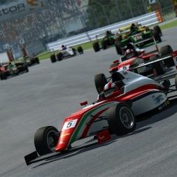 RaceRoom - Tatuus F.4 @ Hockenheim (Fullgrid with AI)