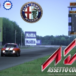 Assetto Corsa :: Alfa Romeo GTA @ Monza 1966 :: FULL ON BOARD
