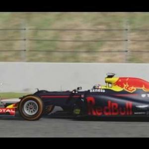 Assetto Corsa - Verstappen / Kvyat / Alonso onboard in Spain (Barcelona GP)