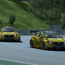 Raceroom WTCC 2015 -  Hungaroring Race 1 - RaceDepartment.com