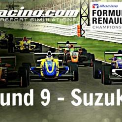 iRacing AOR Formula Renault 2.0 - Round 9 at Suzuka