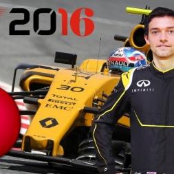 F1 2016 Belgian GP Jolyon Palmer Season Spa