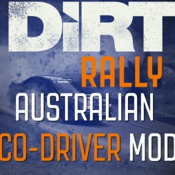 Dirt Rally Australian CO-Driver Mod