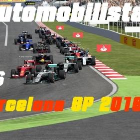 Automobilista // #Reamke Hisotry# // F1 Barcelona GP 2016