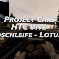 Project Cars - Nordschleife - Lotus98T - HTC VIve