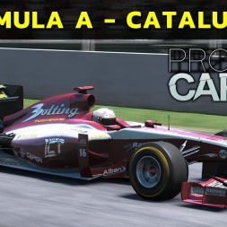 Project Cars - Formula A at Barcelona