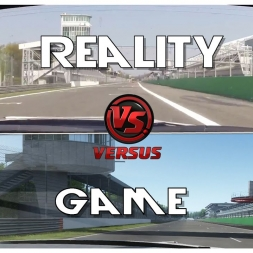 ★Reality VS Game -  GT-R GT3 at MONZA