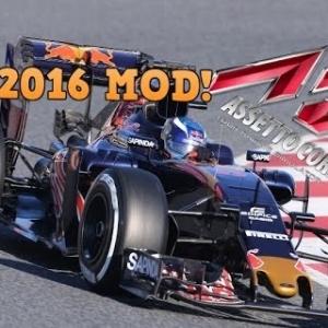 F1 2016 Assetto Corsa Mod, Carlos Sainz jr