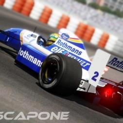 Assetto Corsa - Williams FW14 @ Monaco 88' 1:22:080