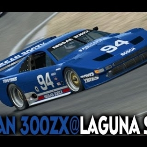Raceroom : Nissan 300ZX @ Laguna Seca