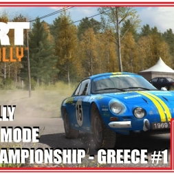 DiRT Rally | Career Playthrough - #1 | Open Championship @ Greece