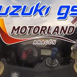 Suzuki GSX K4 Onboard | Motorland | Daniel García