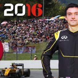 F1 2016 Italian GP Jolyon Palmer Season Monza
