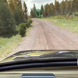 Dirt Rally Finland Kailajärvi Lancia S4