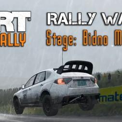 "DiRT Rally   Subaru Impreza WRX STI @ Rally Wales ""Bidno Moorland"" [blind]"