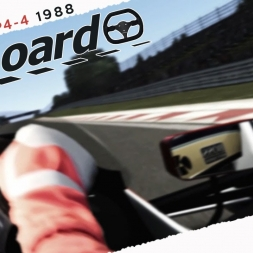 Assetto Corsa Real Onboard Cam McLaren MP4 4 1988 AT Imola