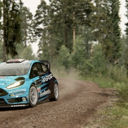 Assetto Corsa - Ford Fiesta WRC @ Kanniranni - Static Cam