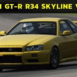 Assetto Corsa - Japanese Pack - Nissan GT-R R34 Skyline V-Spec (PT-BR)