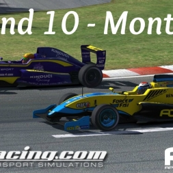 iRacing AOR Formula Renault 2.0 - Round 10 at Montreal
