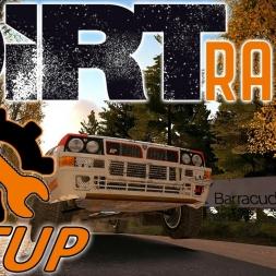 DiRT Rally Top 100 with Controller - Lancia Delta - Mods - Setup Sunday