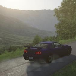 Assetto Corsa Nissan Skyline R34 GTR Hillclimb Drift